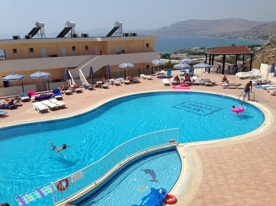 Hotel Ziakis: Room with a view