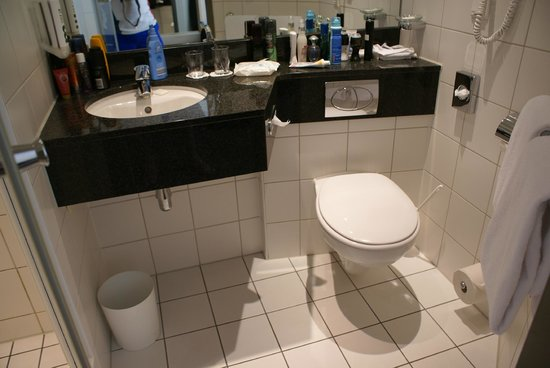 Mercure Hotel Berlin City: Bathroom