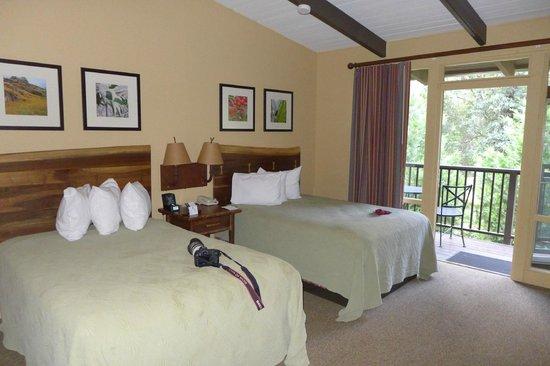 Yosemite Valley Lodge: Zimmer