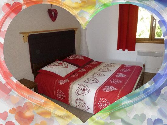 Hotel Le Blanchon: chambre double