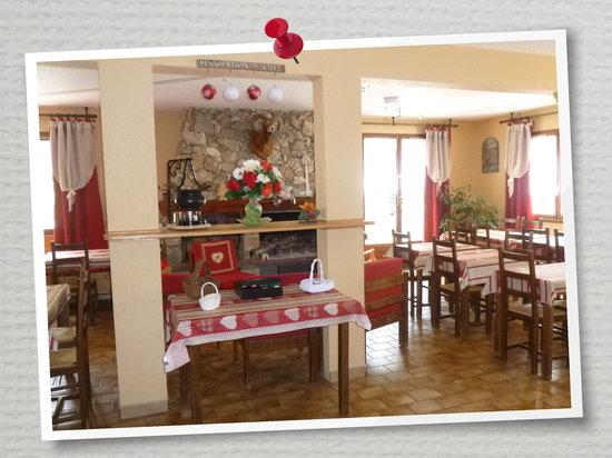 Hotel Le Blanchon: Salle de restaurant