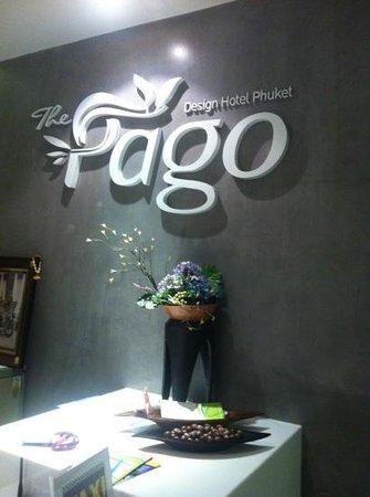 The Pago Design Hotel Phuket: the logo!!