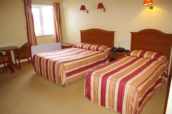 Achill Cliff House Hotel: La camera tripla
