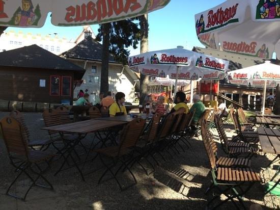 Brauereigasthof Rothaus: Biergarten