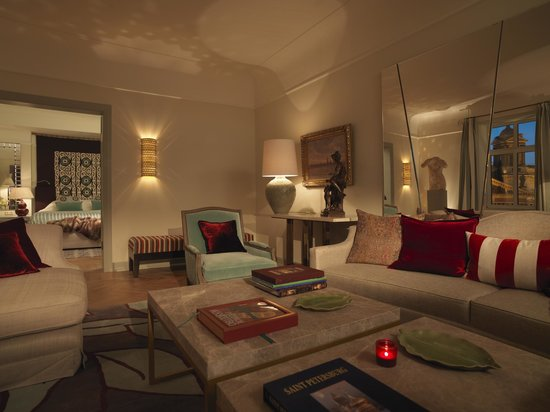Astoria Hotel: Tsar Suite's Living Room