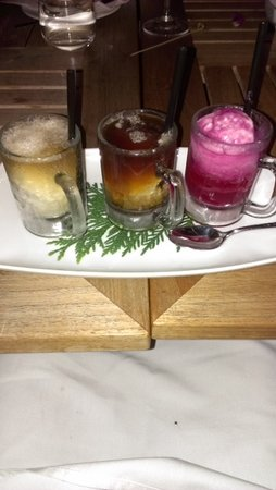 The Brasserie : Trio of Floats