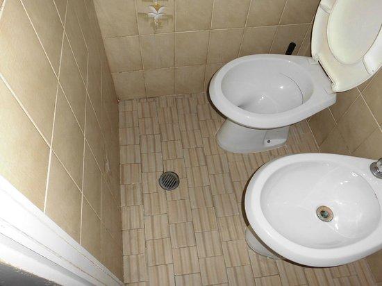 Hotel Elsi : questa era la doccia