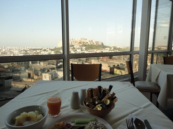 Astor Hotel Athens: morning view