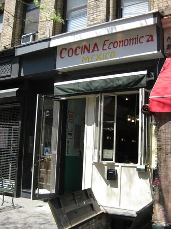 Cocina Economica Mexico: Exterior - Front