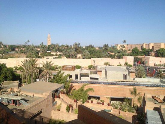 The Pearl Marrakech: vista dalla terrazza