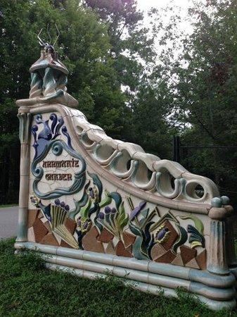 Annmarie Garden: front gate