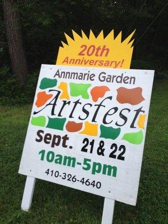 Annmarie Garden: biggest event of year at Annmarie