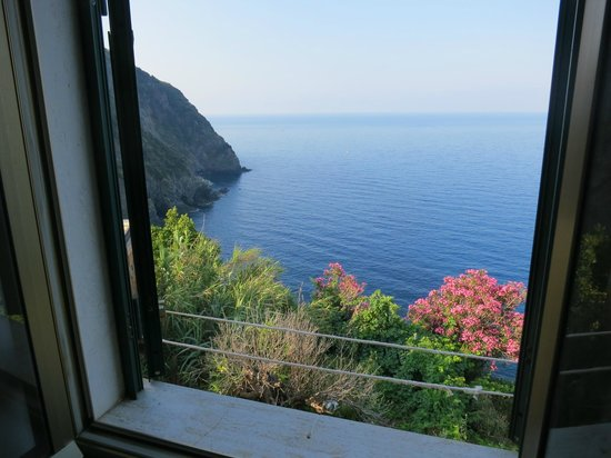 Hotel Clelia: View from the bedroom of the apartment
