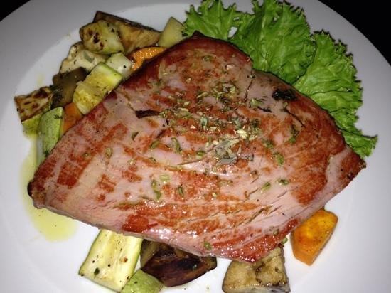 Restaurante MUNDO: trancio di tonno ai profumi mediterranei