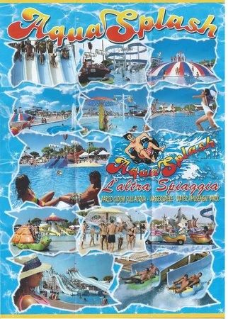 Aquasplash: Aqua Splash Lignano flyer