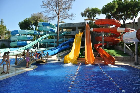 water park main slides picture of maxx royal belek. Black Bedroom Furniture Sets. Home Design Ideas