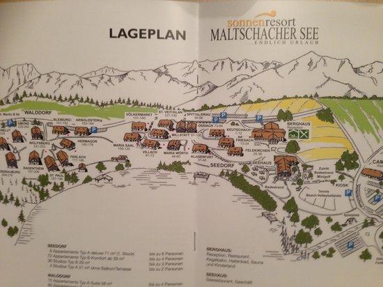 Sonnenresort Maltschacher See: lageplan