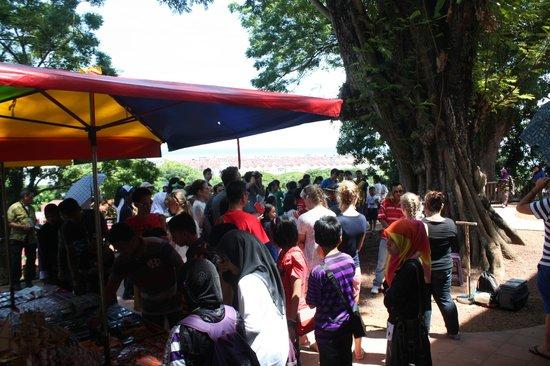 Malacca Heritage Centre: Repleto de gente, sábado y vacaciones