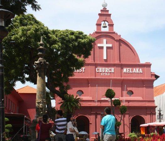 Malacca Heritage Centre: La iglesia, herencia de la colonia holandesa