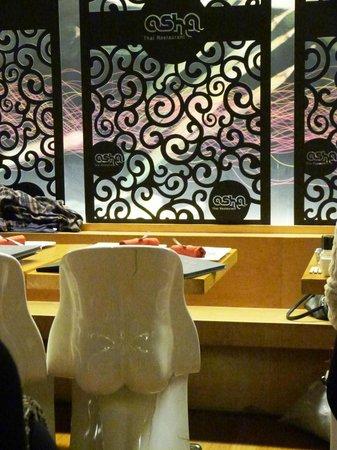 Osha Thai Restaurant: Chaises du restaurant