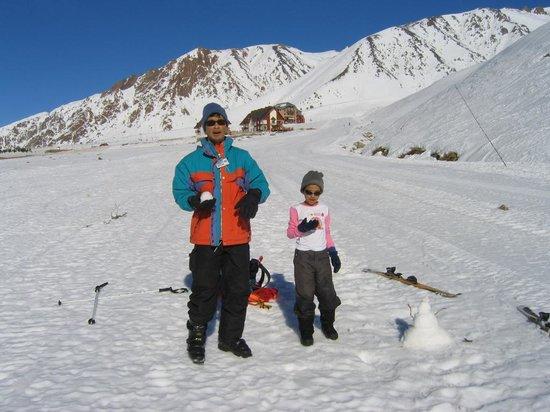 Super Resort Apartur Las Leñas: A little snow man, lots of fun making it
