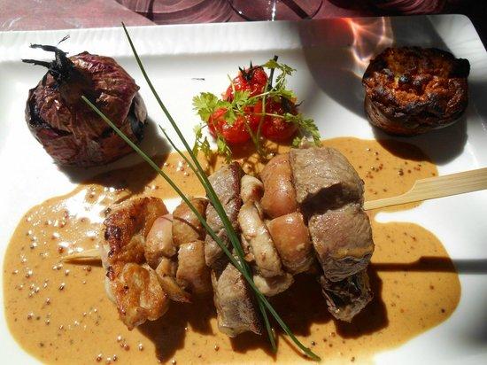 Le Petit Kembs: trio de veau (ris, rognons viande)