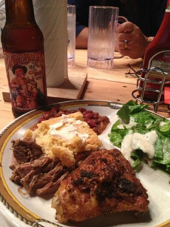 The Cody Cattle Company : dinner with local beer