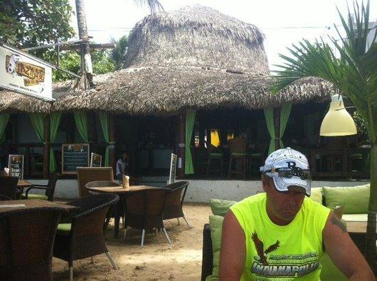 Lazy Dog Beach Bar and Grill Cabarete : Brian from Sherwood Park Alberta Canada