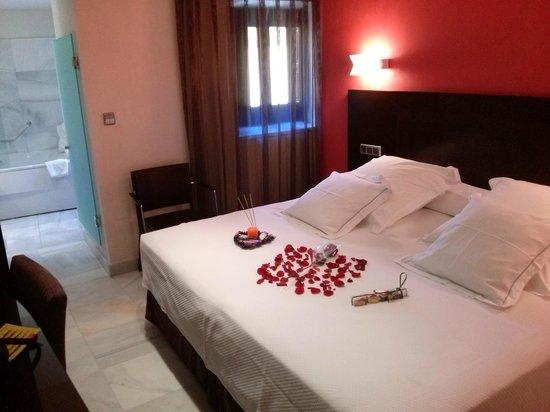 Sercotel Hotel Pintor el Greco : Nuestra habitacion doble superior...nos encantó