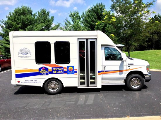 BEST WESTERN PLUS Inn at Valley View : Our new shuttle bus awaits you!