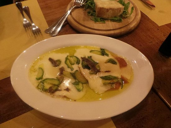 Tiberio Trattoria: highly recommended