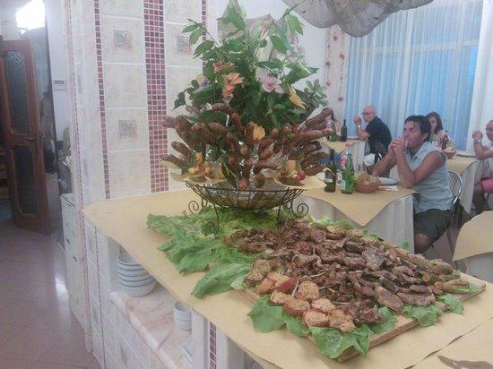 Hotel Venus: buffet