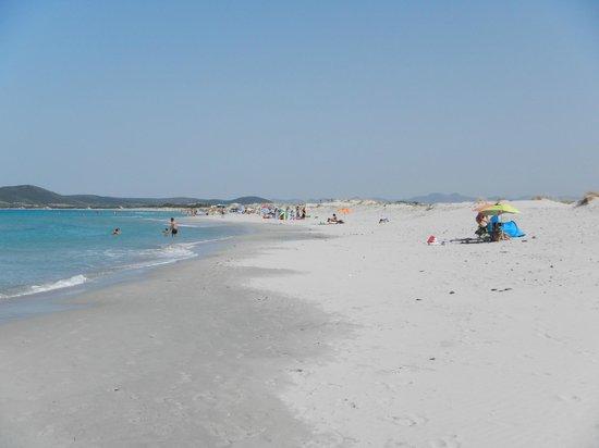 Porto Pino: la spiaggia