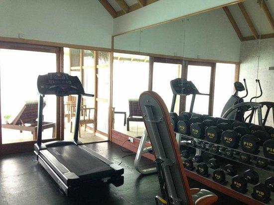 Vakarufalhi Island Resort: Fitness Room