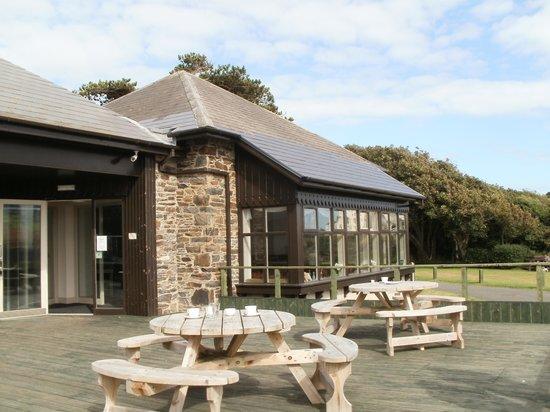 Bradda Glen Restaurant and Tea Rooms : entrance to the cafe
