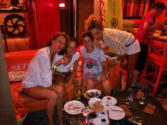 Tiberi Restaurant & Bistro : Tiberi friends
