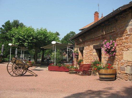 Le Moulin de Saint Vérand : Entrée