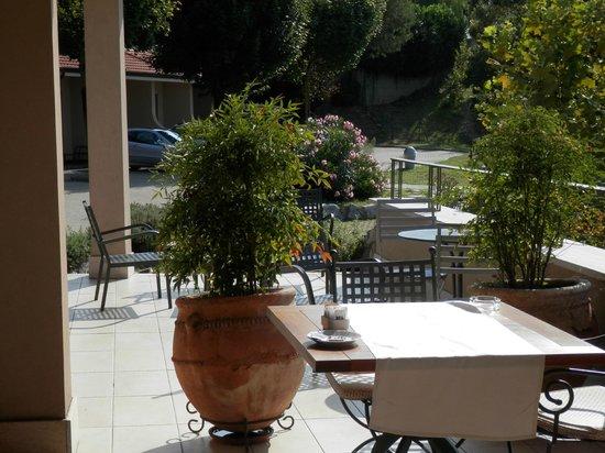 Relais sul Lago: balcon de la salle à manger