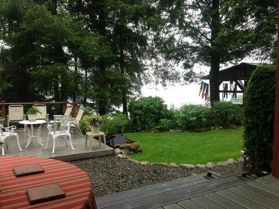Black Bear Inn: view from my deck
