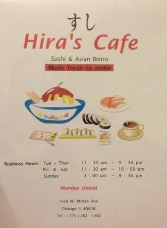 Hira's Cafe