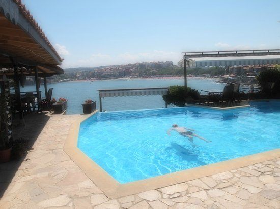 Hotel Villa Plattara: What a pool!