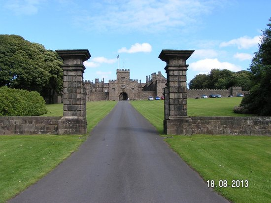 Hoghton Tower: Stately entrance to the past.