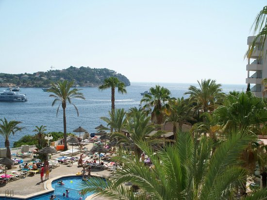 View from room 314 picture of trh jardin del mar santa for Apart hotel jardin del mar