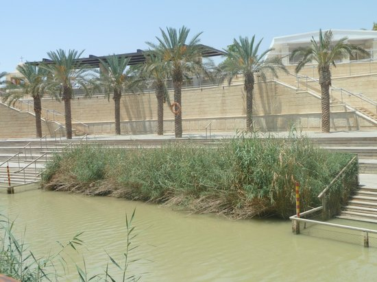 The Baptism Site Of Jesus Christ : Israel across the river