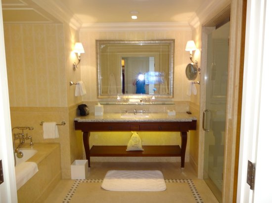 Four Seasons Hotel Lion Palace St. Petersburg: Spotless, well appointed, modern Bathroom