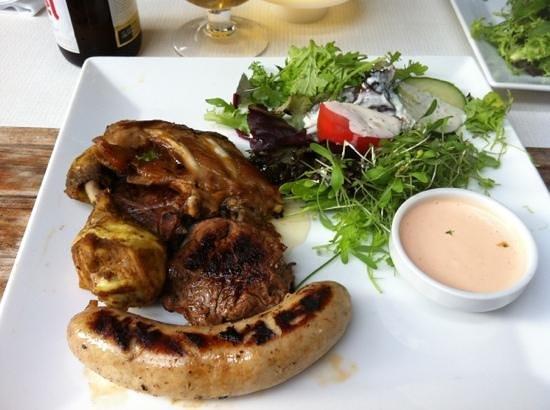 Restaurant De Witte Leeuw: grigliata mista di carne