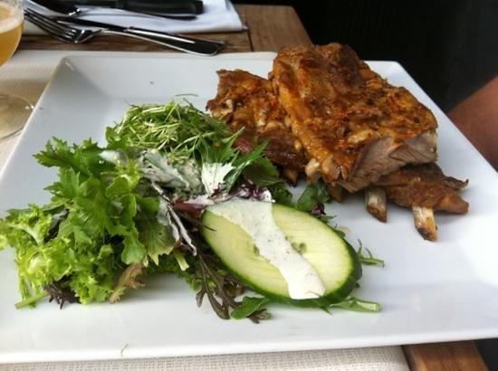 Restaurant De Witte Leeuw: costolette al miele