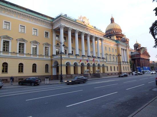 Four Seasons Hotel Lion Palace St. Petersburg: Facade.  St Isaac's next door.