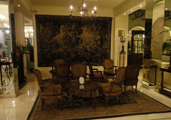 Melia Recoleta Plaza: beautiful lobby