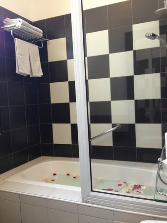 Jonker Boutique Hotel: even in the bathroom